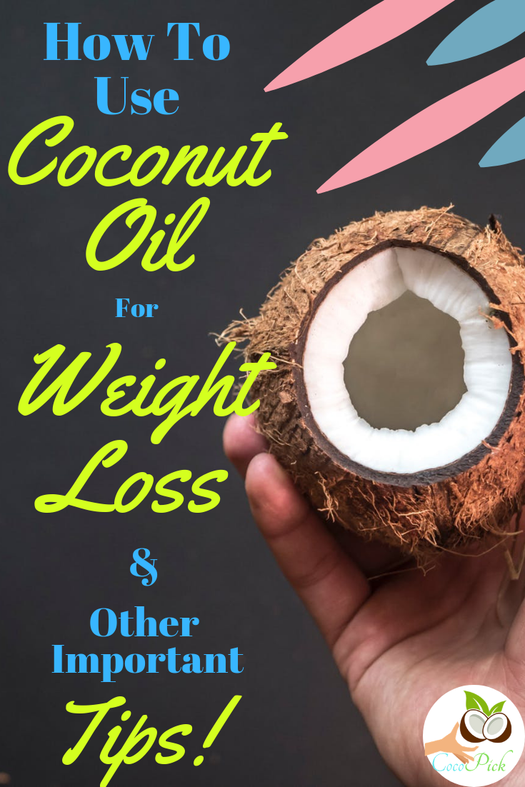 how much coconut oil to take daily for weight loss