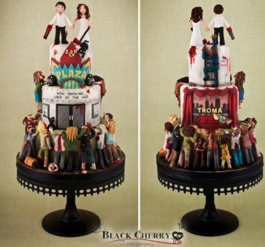 Eight Crazy Wedding Cakes