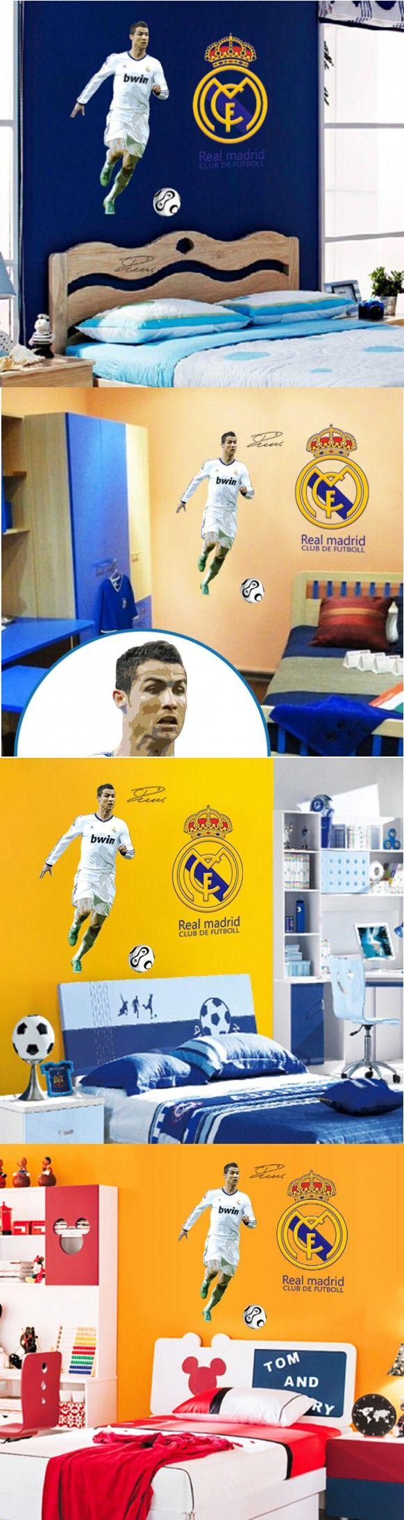 Best World Cup Soccer Football Star Ronaldo Wall Stickers 640 x 480