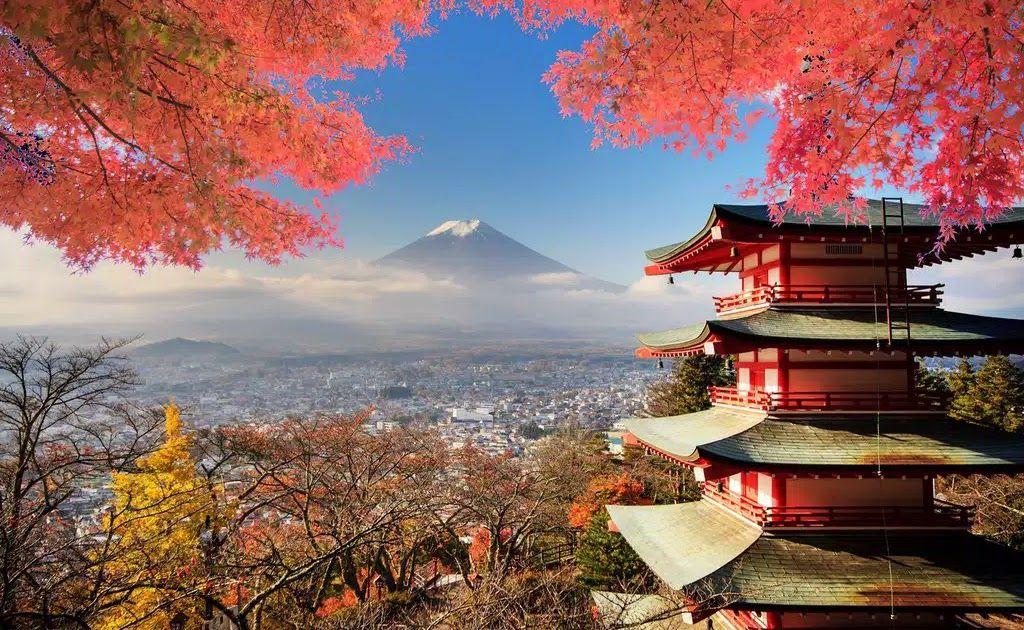 30 Gambar Pemandangan Alam Di Jepang Hiasan Dinding Poster Pemandangan Alam Gunung Fujiyama Jepang 06 60x90cm Download Di 2020 Pemandangan Wisata Jepang Bepergian