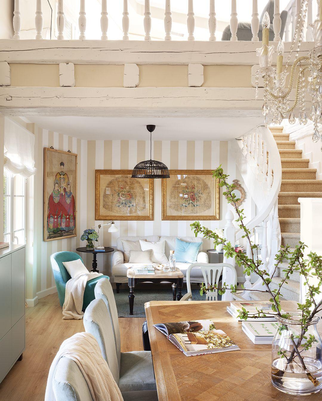En el saln en 2019  Ideas para el hogar  Papel pintado