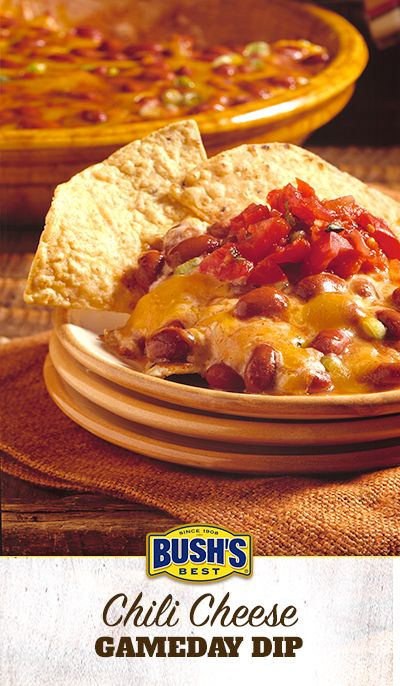 Bushs chili cheese gameday dip recipe easy dip recipes dips bushs chili cheese gameday dip this easy dip recipe can be made spicy or forumfinder Gallery