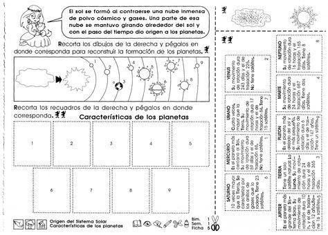 Origen Del Sistema Solar Características De Los Planetas 5to Grado Caracteristicas De Los Planetas Sistema Solar Para Niños Sistema Solar