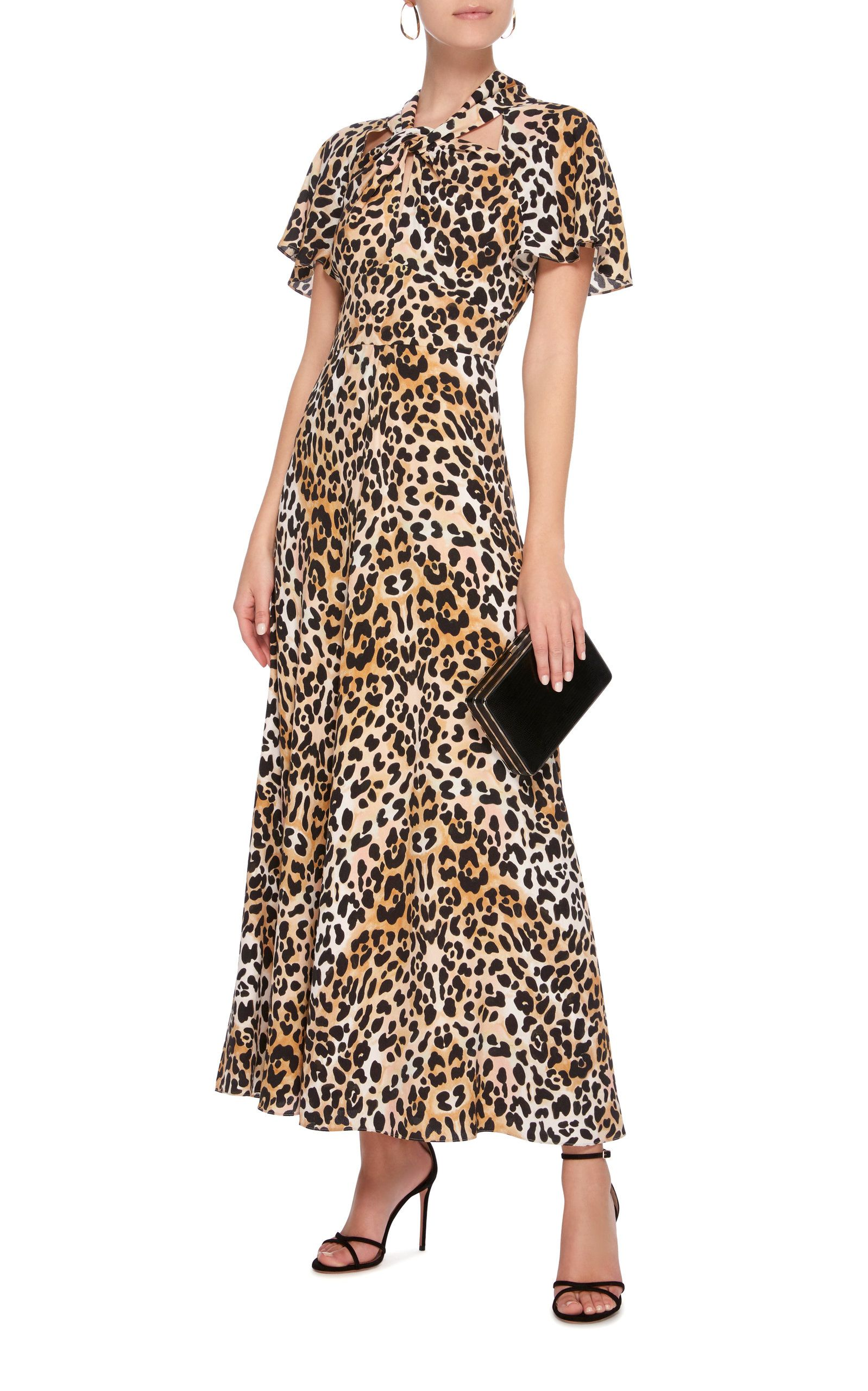 6aa58ee866 Wild Cat Midi Dress   Spring Dresses   Dresses, Dress outfits, Temperley