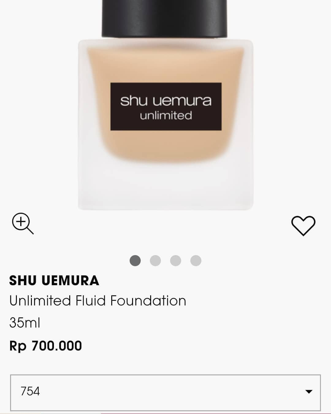 shu uemura unlimited foundation 1000% original authentic