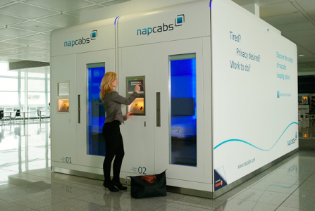 Munich Airport Installs a Sleeping Pod Tidur, Kamar tidur