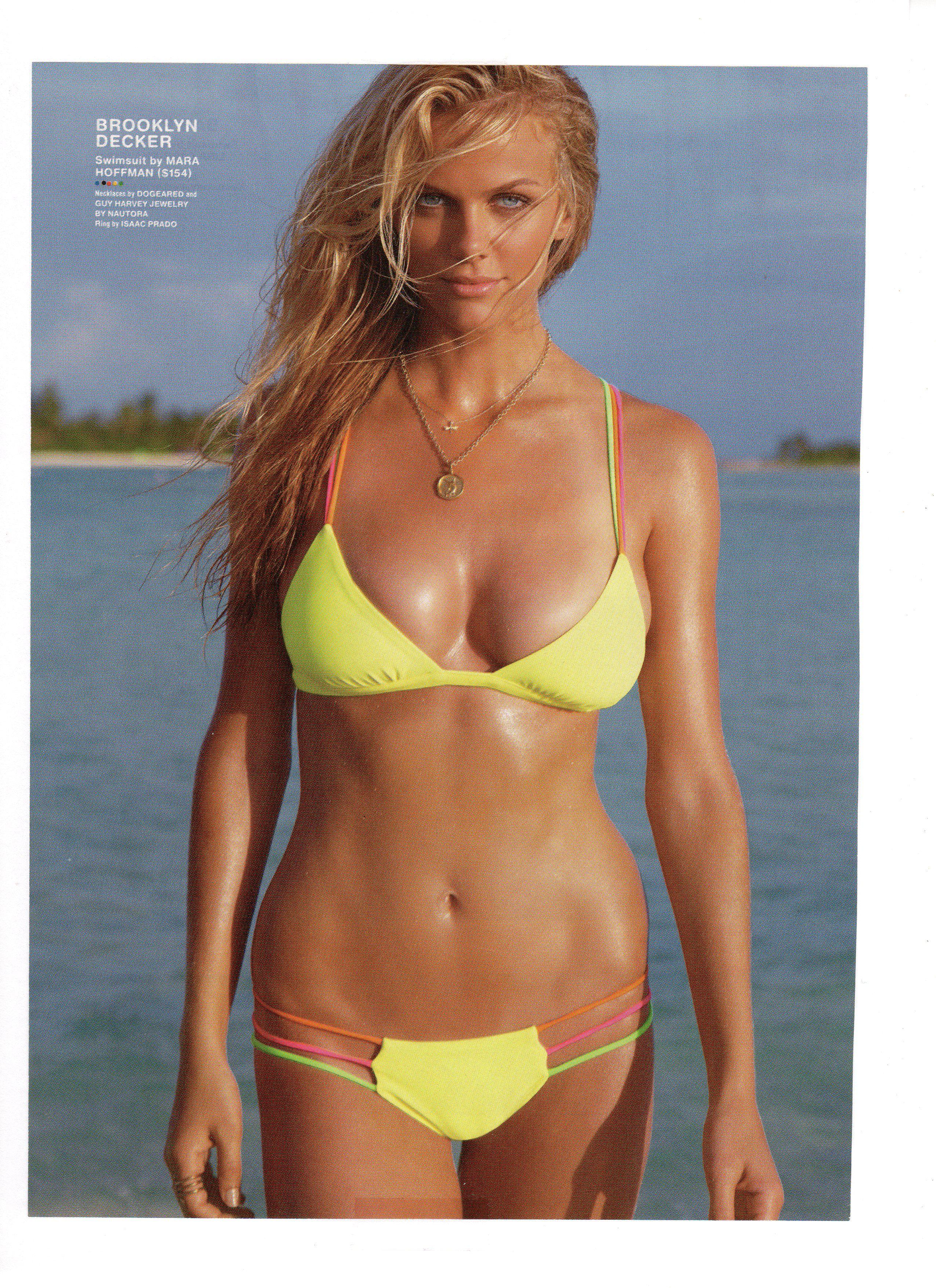 Full Sized Photo of brooklyn decker bikini cartwheels.jpg