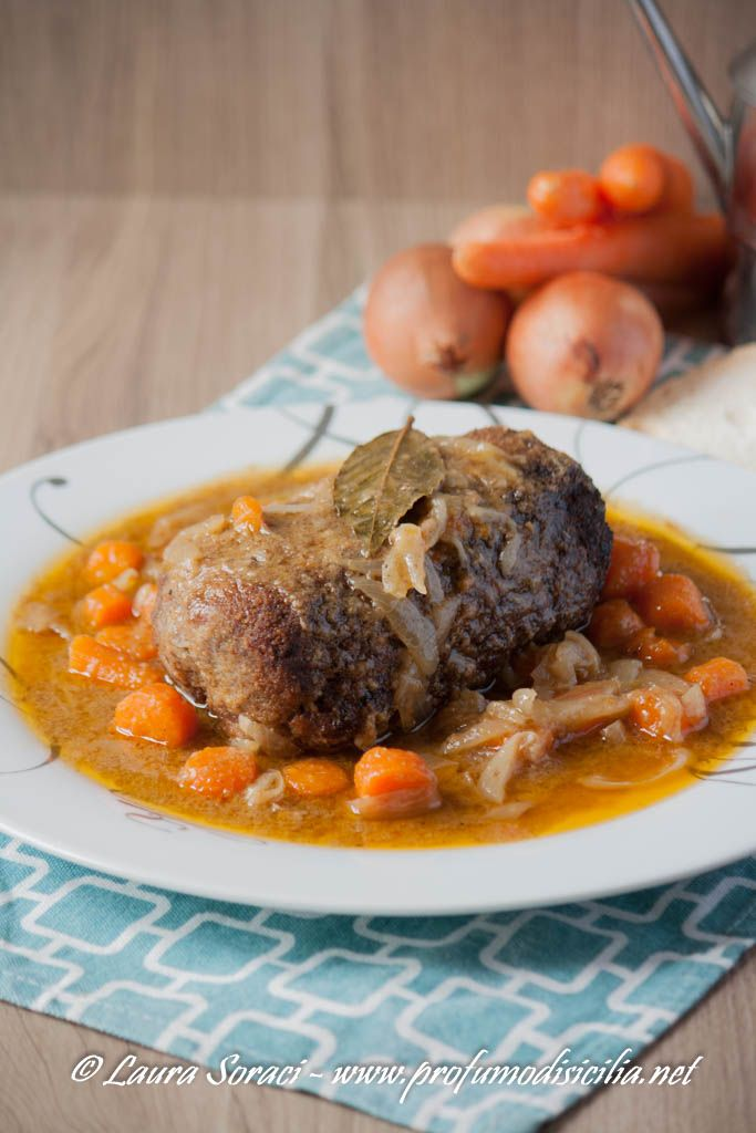 Photo of Meatloaf with stewed vegetables – Sicilian perfume …
