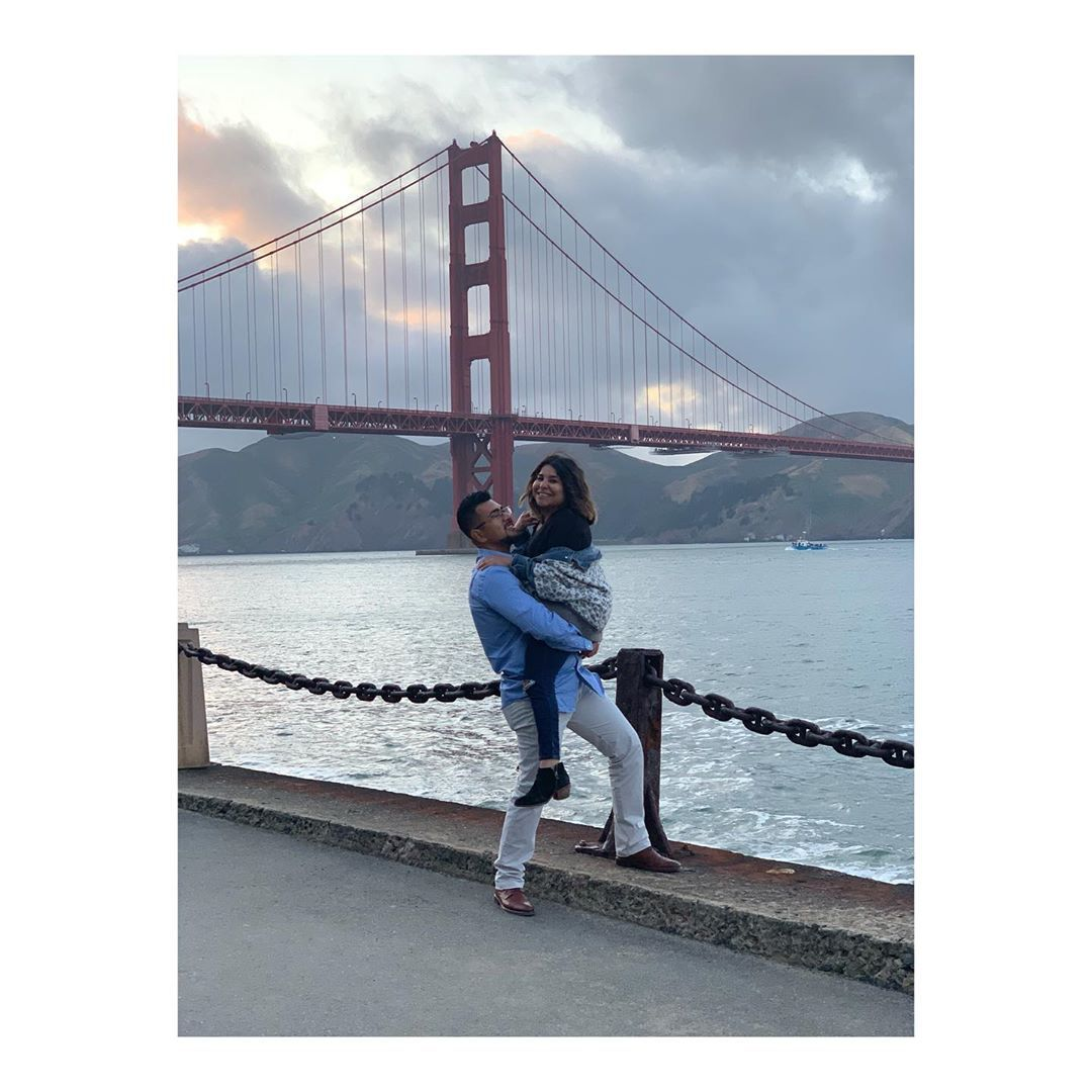 I left my heart in San Francisco High on a hill ...