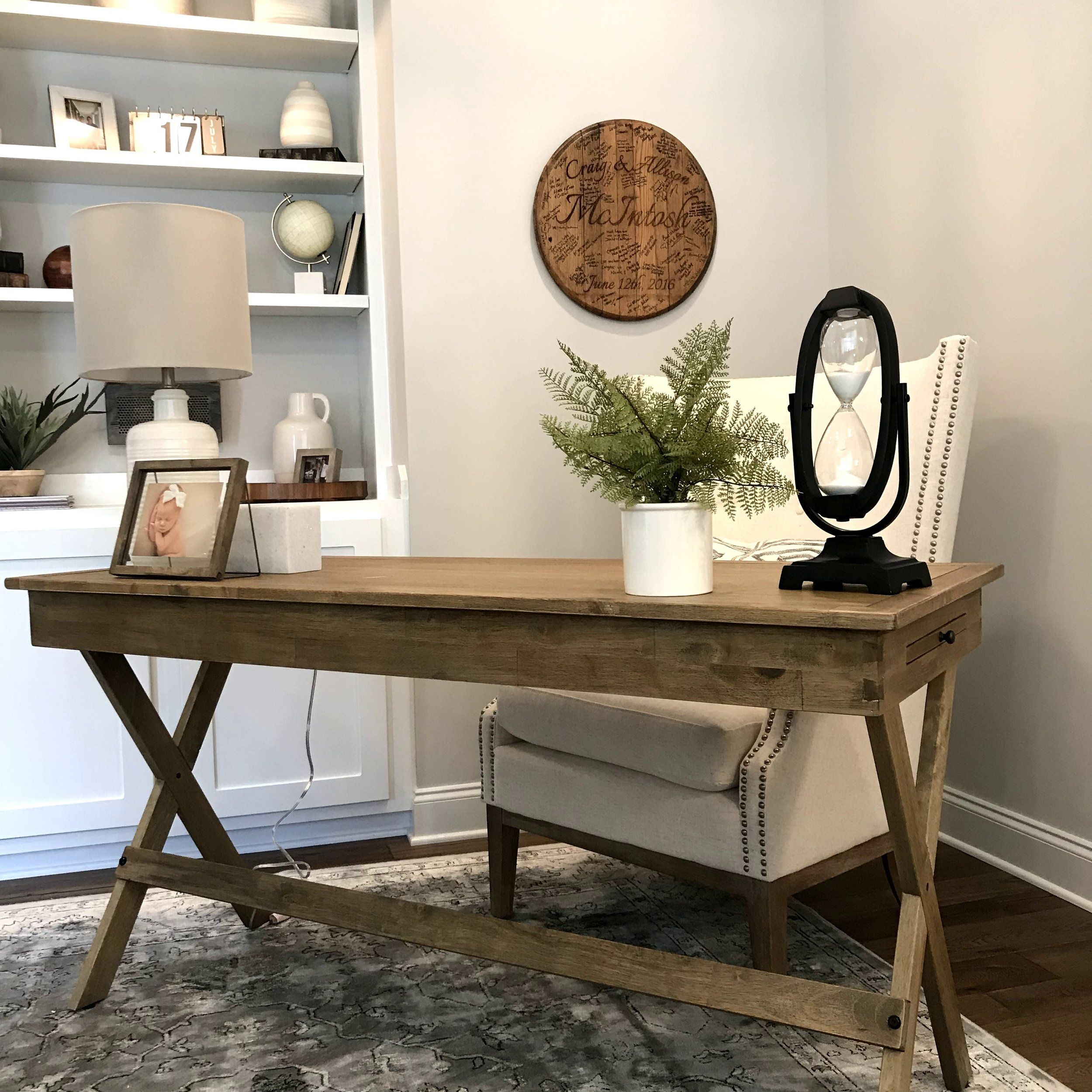 Modern Farmhouse Home Office Decor