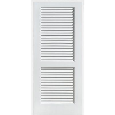 Verona Home Design Stile And Rail 2 Panel Prehung Door Finish Primed White Opening W Prehung Interior Doors Louvered Interior Doors Top Interior Design Firms