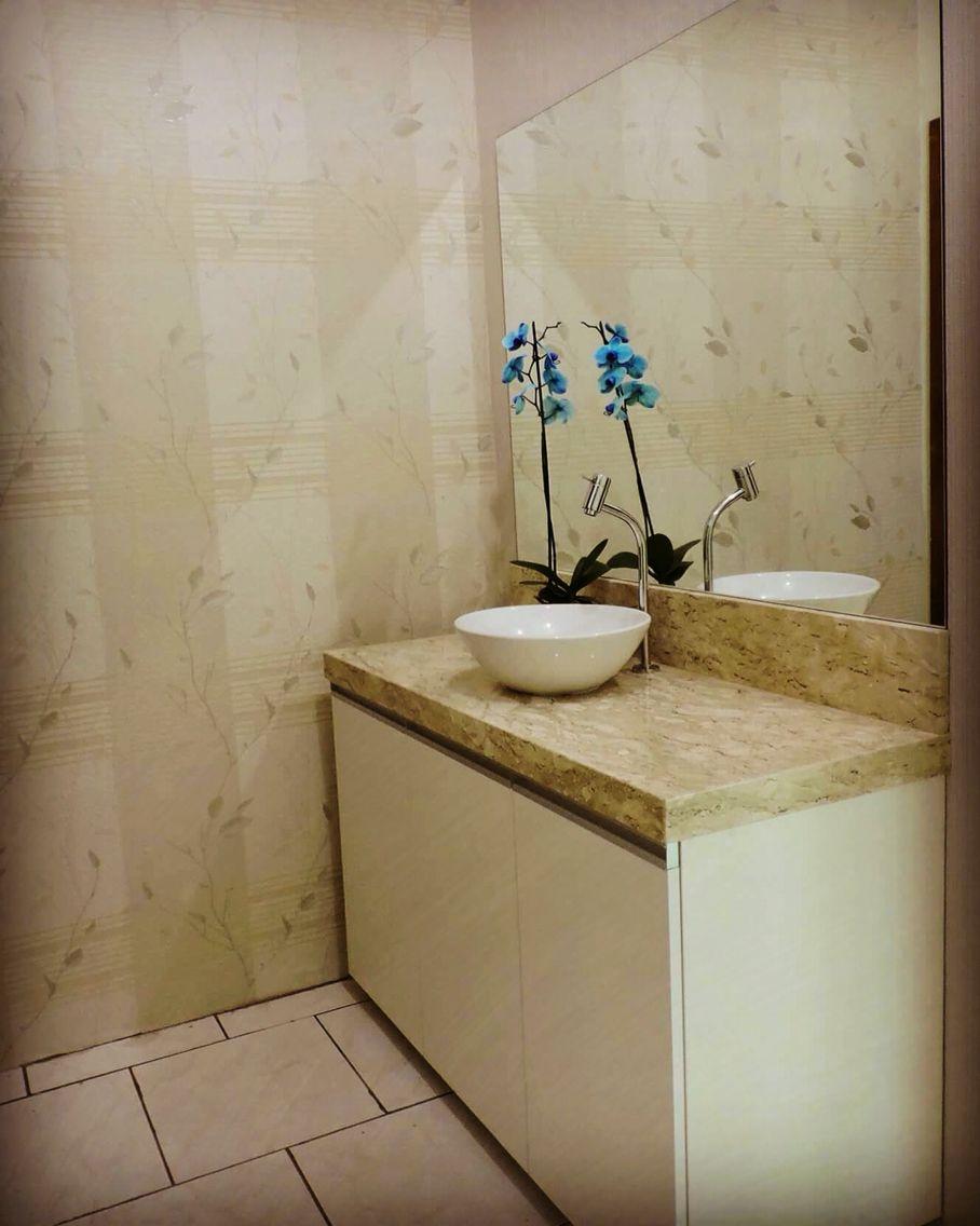 Móveis sob medida para dar ao seu banheiro a elegância e praticidade que você precisa. www.conceituallmóveis.com.br