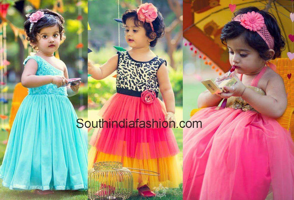 4c69ec1d726f Kids Frocks Design, Baby Frocks Designs, Saree Blouse Designs, Blouse  Styles, Dress