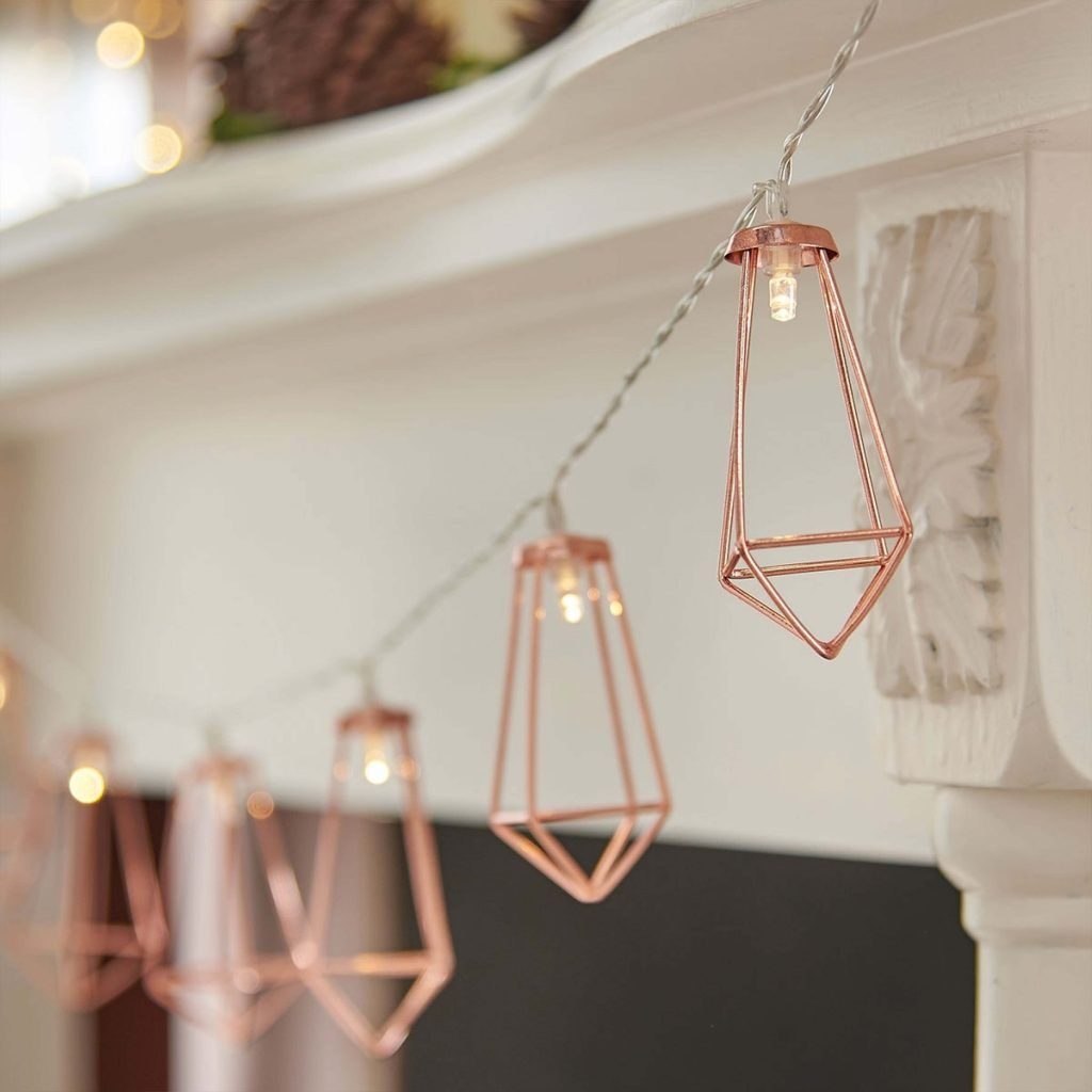 Blush Grey Copper Room Decor Inspiration