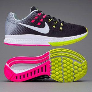 the best attitude f4483 c5792 Nike Womens Air Zoom Structure 19 - Black/Pink Blast/Dark ...