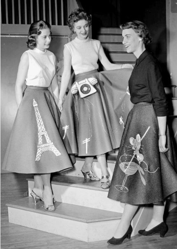 15 Fabulous 50s Skirts To Make You Long For The Days Of