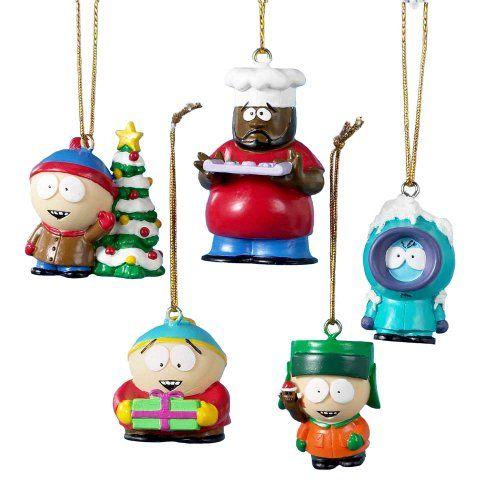 South Park 5 Piece Mini Ornament Set - Kenny, Cartman ...