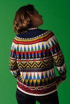 kit tricot jacquard