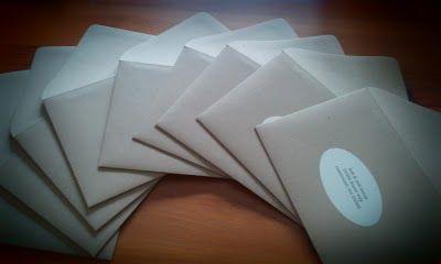 Paper Bag Envelopes  www.maylastudios.com