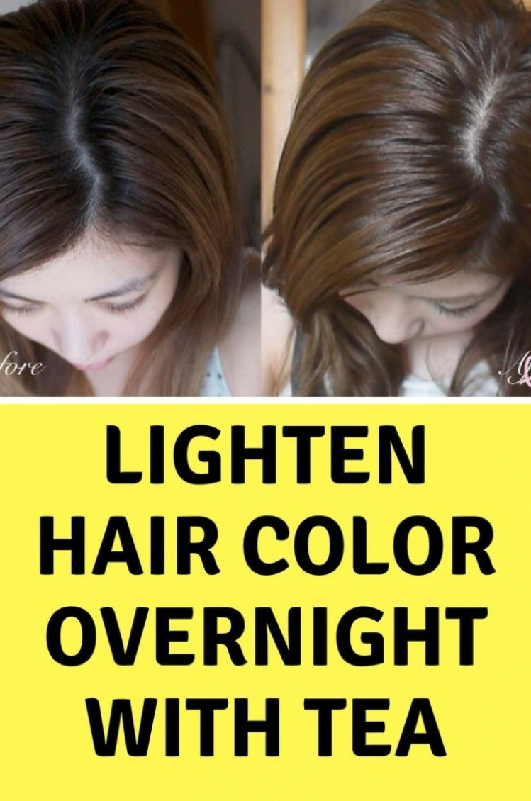 How To Color Your Hair With Tea Hair Color Your Hair Health