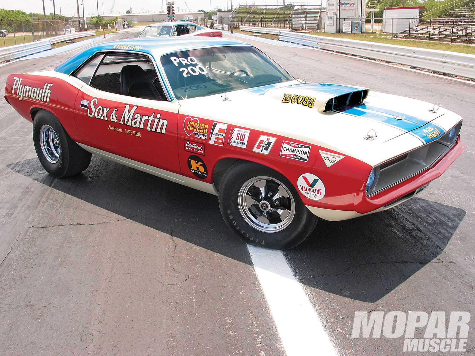 We Take A Look At The Legacy Of Ronnie Sox And Buddy Martin As They Revolutionized Plymouth S World In The 60 S And 70 S Thr Drag Racing Cars Drag Racing Mopar