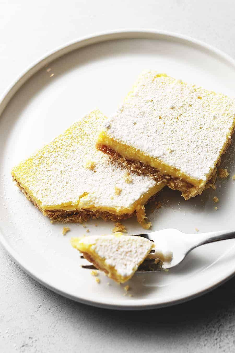 Keto Lemon Bars Low Carb With Jennifer In 2020 Low Carb