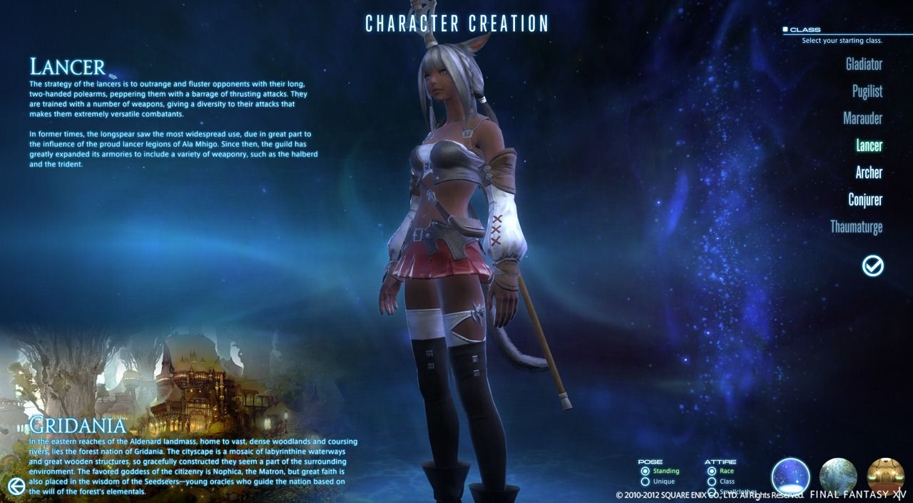 Final Fantasy XIV: A Realm Reborn - New Character Creation System