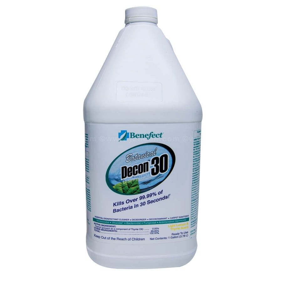 Benefect Botanical Decon 30 Disinfectant Cleaner Spray Bottle