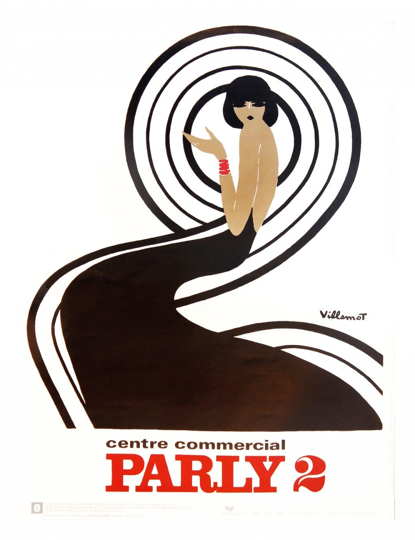 Bally Bernard Villemot Poster 24 X 36