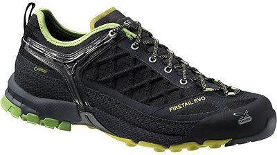 Salewa Firetail EVO GTX Hiking Shoe - Men's Black/Emerald 10.5