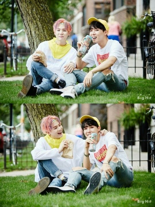 BTS butterfly dream SUGA and J-hope