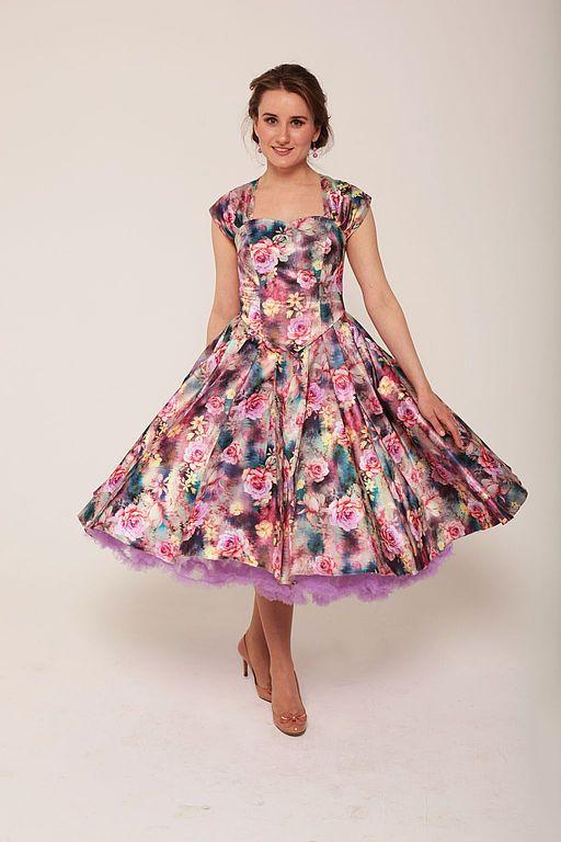 Стиляги: актуальный стиль в одежде | Платья, Летние платья ...