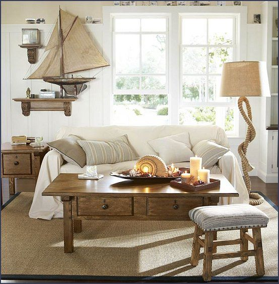 Nautical Living Room | Nautical Bedroom Ideas   Decorating Nautical Style  Bedrooms   Nautical .