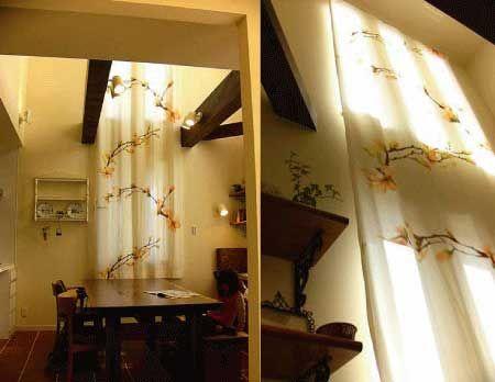 オーダーカーテン<スイス・クリエーションバウマン>-神戸のインテリアショップ・ノーブズ