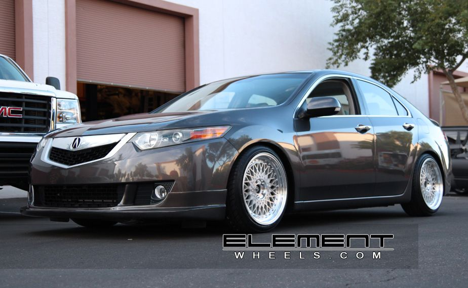 Avant Garde M Silver Machined Wheels On Acura TSX Avant - Rims for acura tsx