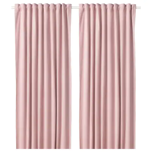Vorhange Gardinen Fur Mehr Atmosphare Ikea Verdunkelungs Gardinen Verdunkelung Rosa Vorhange