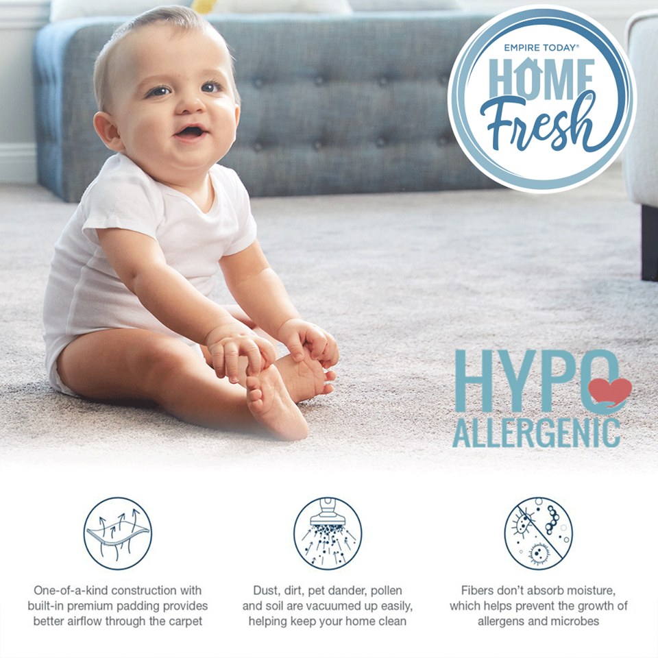 Suffer from allergies or asthma? Don't cross carpet off