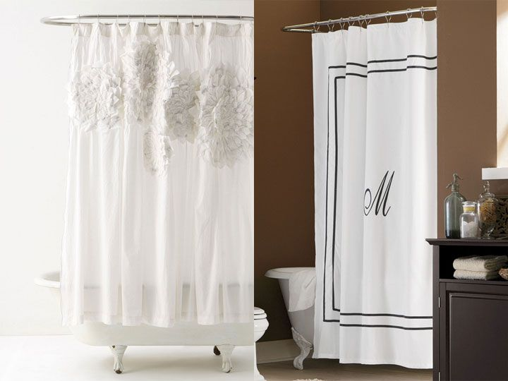 Current Favorite Things Flower Shower Curtain Lodge Style Home