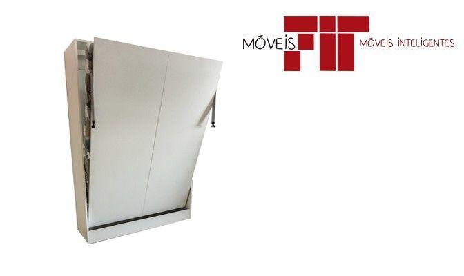 Cama casal vertical retratil :: Moveisfit