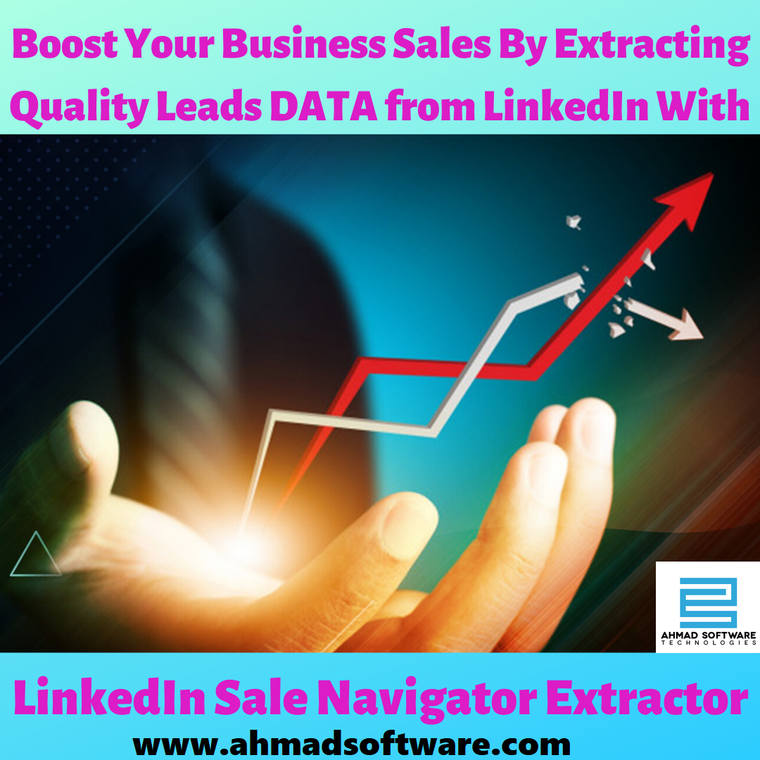 LinkedIn sale navigator extractor has a lot of filters and