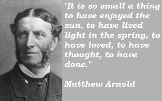 """theme of the poem shakespeare by mathew arnold Matthew arnold's """"dover beach: reference for a cultural reading of arnold's """"dover beach"""" i have chosen the poem as recurrent theme of the."""