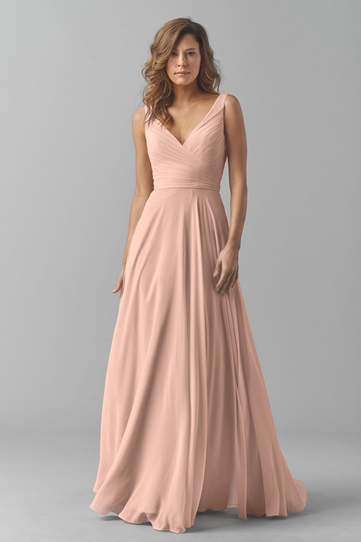 d4183c1e23f71 Wddington Way. $280. Watters 8542i Bridesmaid Dress in Blush in ...