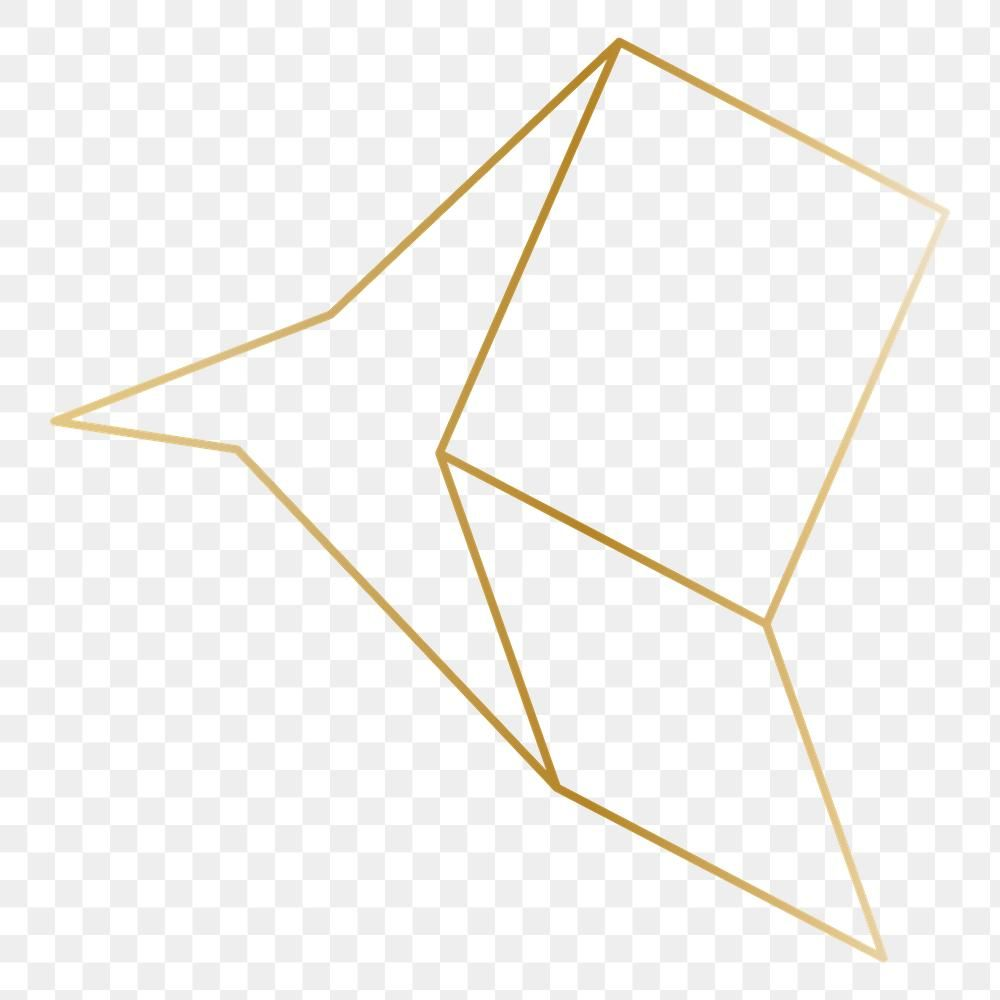 Minimal Gold Star Shape Transparent Png Free Image By Rawpixel Com Katie Gold Stars Star Shape Shapes