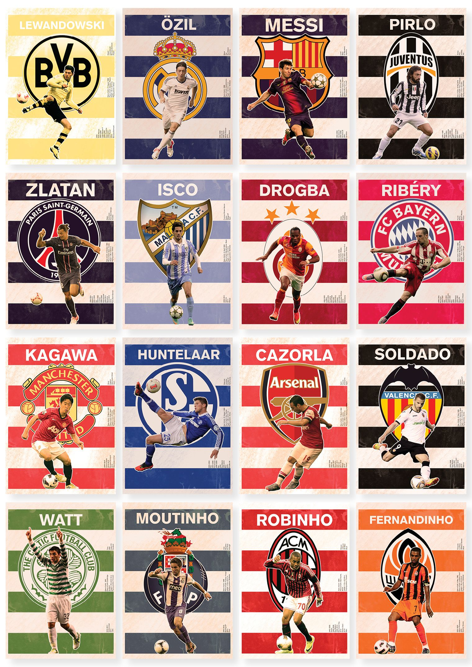 The Round Of 16 Collection Poster Poster Champions League Stars Soccer Fotball Soccer Soccer Artwork League