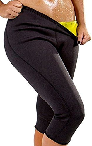 a598c02897c SAYFUT Womens Hot Sweat Sauna Yoga Leggings Body Shapers Workout Slimming  Pants     Click image for more details.