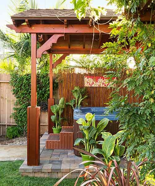 A Seabee Designs a Long-Distance Backyard Remodel #backyardremodel