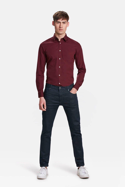 7e37be1bb7a WE Fashion slim fit overhemd | Herenmode - Overhemd, Fit en Lange mouwen