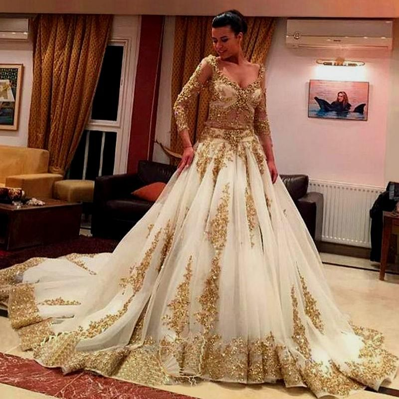 Gold And Ivory Wedding Dress Gold And Ivory Wedding Dress Naf Dresses Long Vintage Wedding Dress Ball Gowns Wedding Wedding Dresses