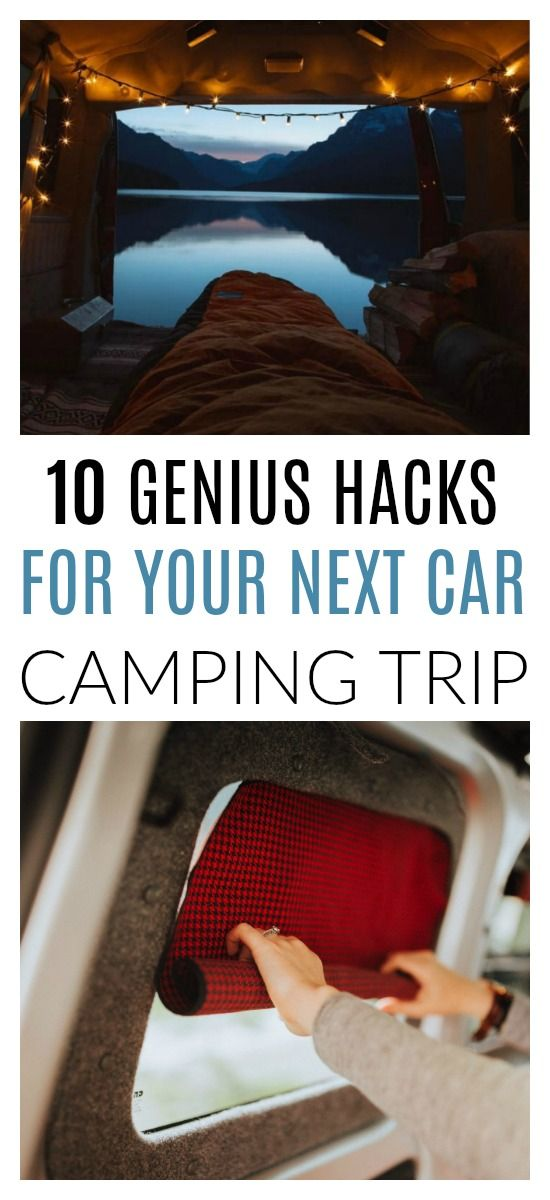 Photo of 10 Of The All-Time Best Car Camping Hacks