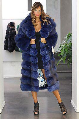 Pelliccia cappotto di pelliccia cappotto Milano Fashion VOLPE FUR COAT FOX PELLICCIA VOLPE лиса